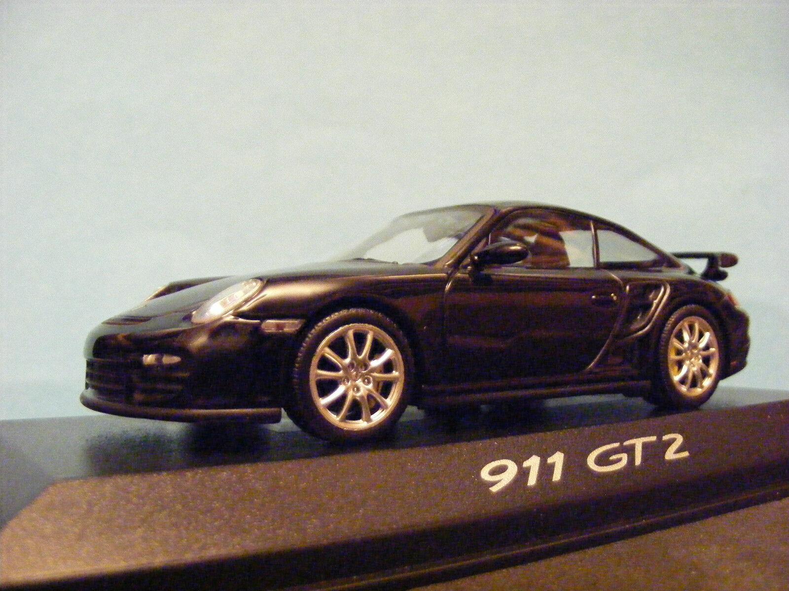 PORSCHE 911 GT2 (997) 2006 Rare Minichamp made for Porsche  1 43 NLA