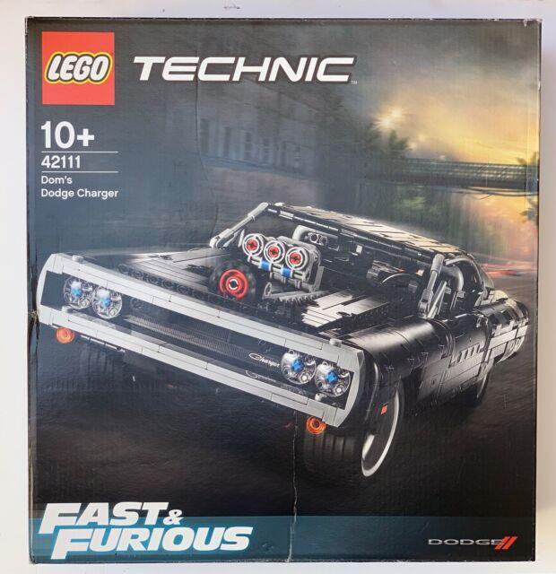 LEGO Technic 42111 Dom's Dodge Charge R/T de Dom FAST & FURIOUS / 40cm !