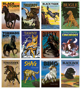 NEW-Animal-Adventure-Stories-Set-of-12-Thomas-C-Hinkle-Series-Paperback-Nature