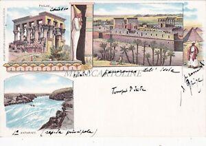 EGYPT - Philae - Illustrated Views