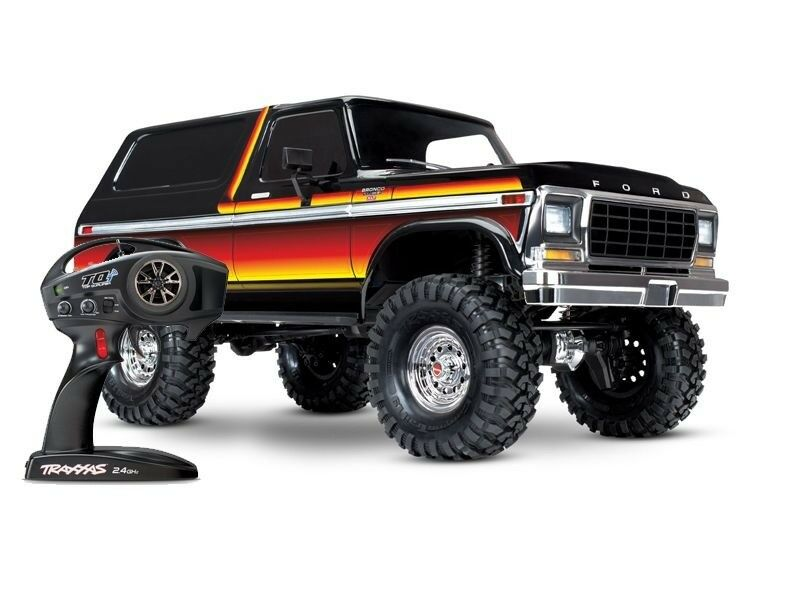 Traxxas trx-4 ford bronco Ranger XLT 1 10 scale Crawler rtr 312mm - 82046-4
