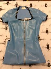 R0852 Rubber Latex Seduction DRESS 8 UK *MADE+DESIGNED IN UK* *Shown*  Seconds