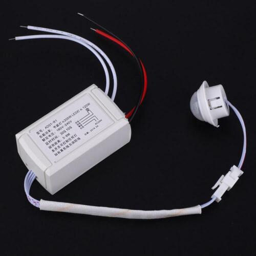 Infrarot Induktiv Bewegungsmelder IR Sensorschalter für Flure LED-Lampe 180-240V