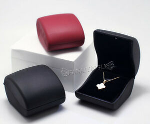PU-Leather-LED-Lighted-Propose-Engagement-Necklace-Box-Jewelry-Gift-Box
