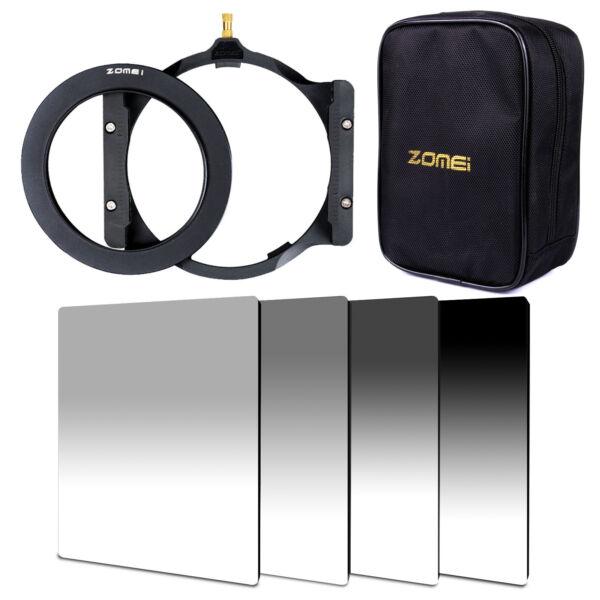 150*100mm Progressive Nd2+4+8+16 Carré Filtre +82 Mm Anneau + Support + Sac Pour Cokin Z-pro-g For Cokin Z-pro