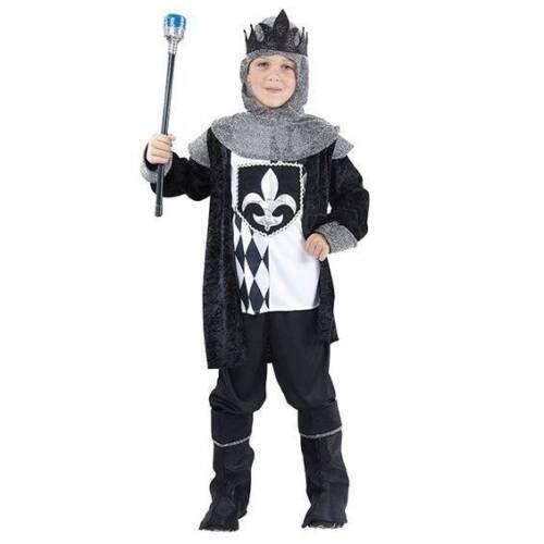 moyen enfants livre semaine Chess King chevalier médiéval Boys Fancy Dress Costume