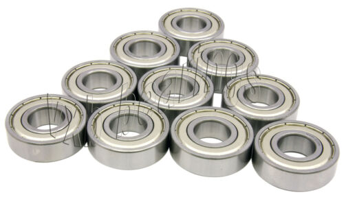 10 Quality Rolling Bearing ID//OD 6203Z 17mm//40mm//12mm