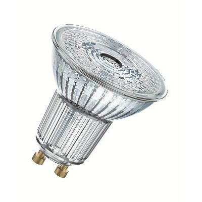 Osram LED Superstar PAR16 50 36° GU10 Strahler Glas 2700K wie 50W dimmbar