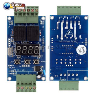 12V-Dual-Programmable-Relay-Control-Board-Cycle-Delay-Timer-Switch-Module-Top