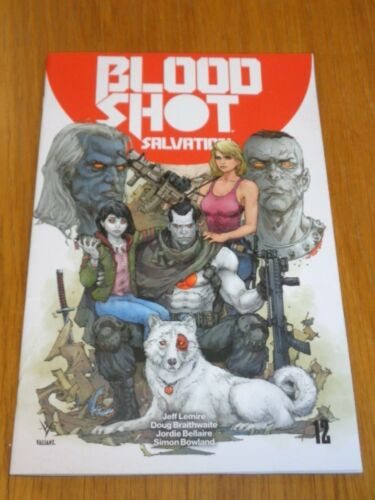 BLOODSHOT SALVATION #12 VALIANT COMICS AUGUST 2018