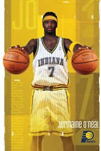 New-Costacos-NBA-Indiana-Pacers-Jermaine-O-039-Neal-Superstar-Poster-22-5-x-35