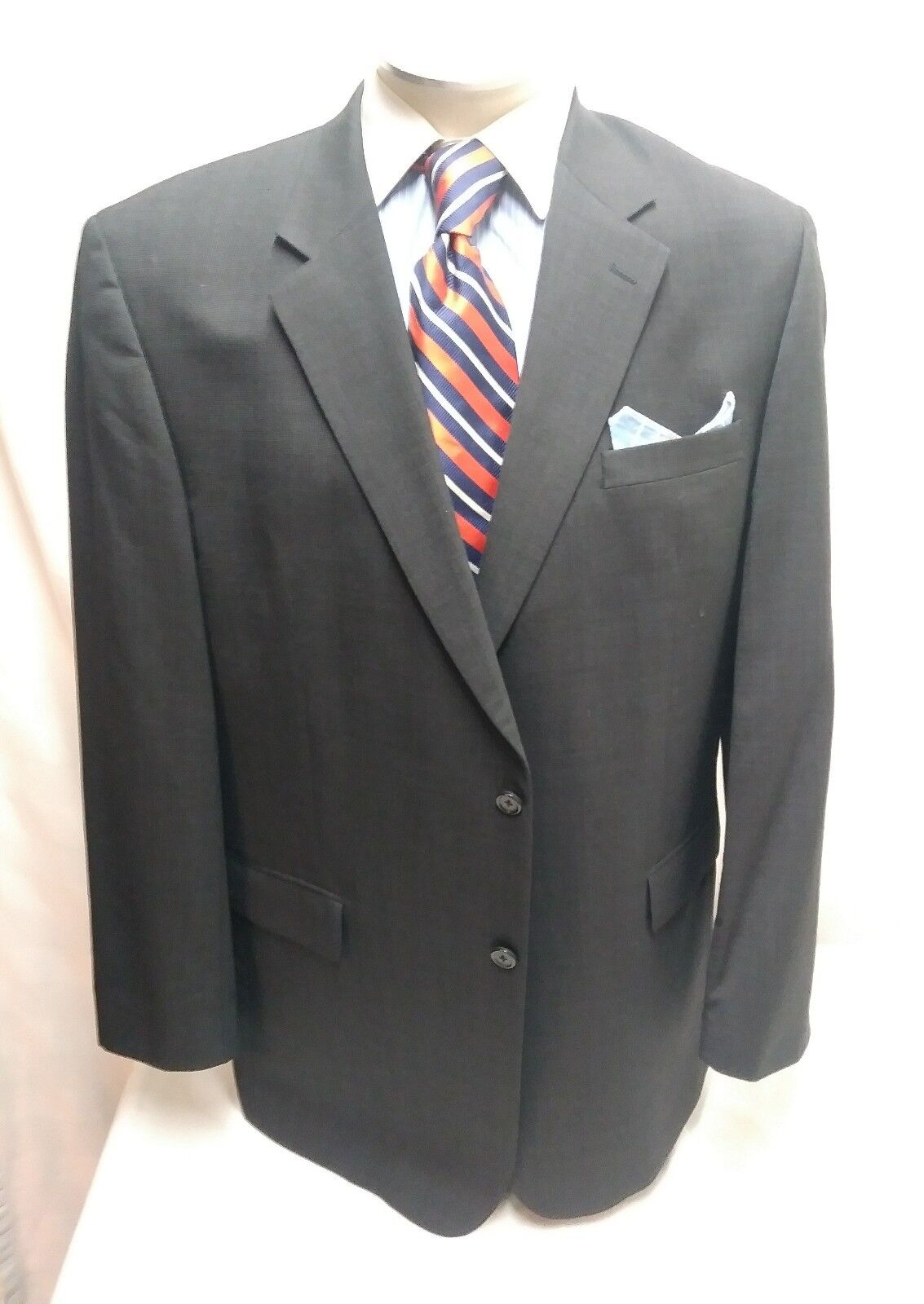Herren JOS.A.BANKgrau 2 button single vent sport coat sz 48L