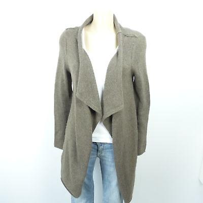 FFC Cardigan Long Strickjacke Knit Braun Gr. S 36 | eBay