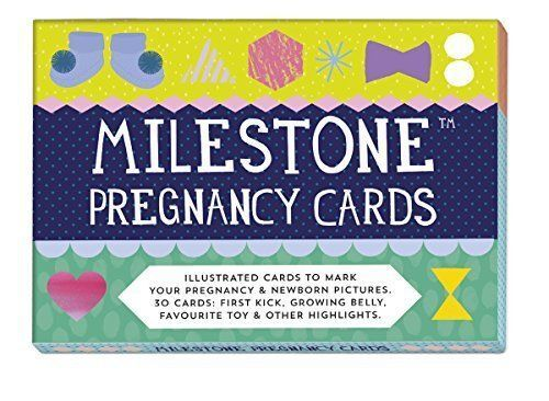 Milestone The Original PREGNANCY AND NEWBORN CARDS Toddler//Child Gift Baby