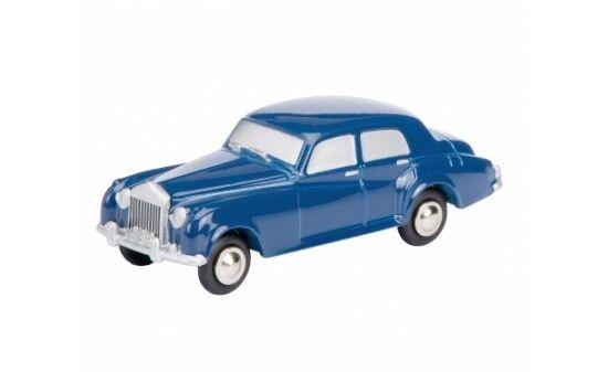 #450517500 - Schuco Rolls-Royce Silver Cloud dunkelblau (05175) - 1:90 (Piccolo)