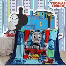 NEW Thomas and Friends Plush Soft Silky Flannel Blanket Throw Bedding Cartoon