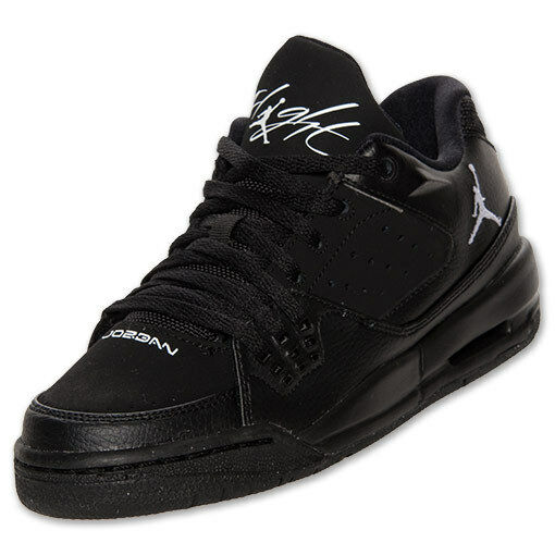 Nike Air Jordan Sc-1 Flight Low Size 5y - Black White - 599930 010 for sale  online  bd281754a