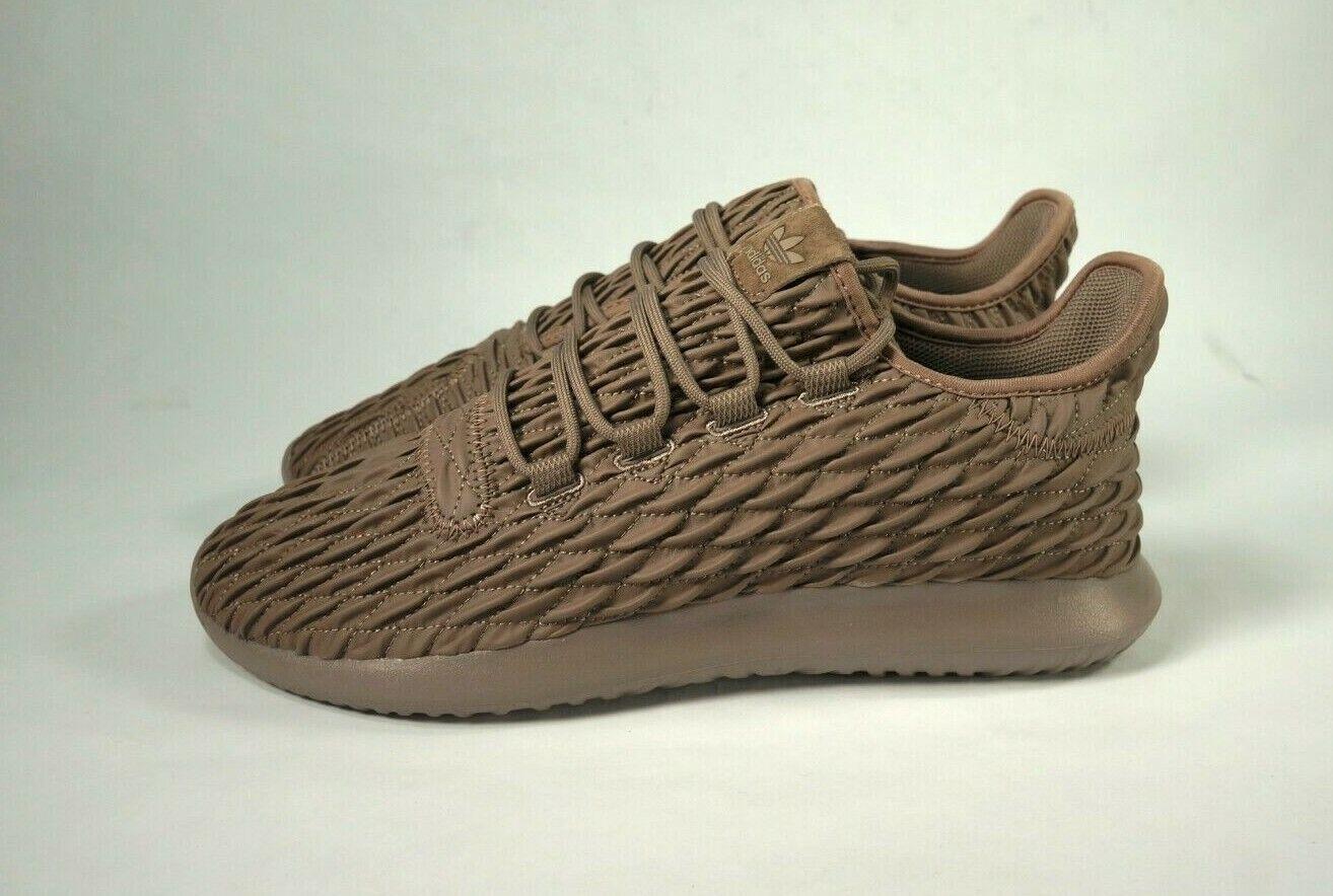 Men's Adidas Adidas Adidas Tubular Shadow Trace brown shoes BB8974 Sz 10.5 New b4492b