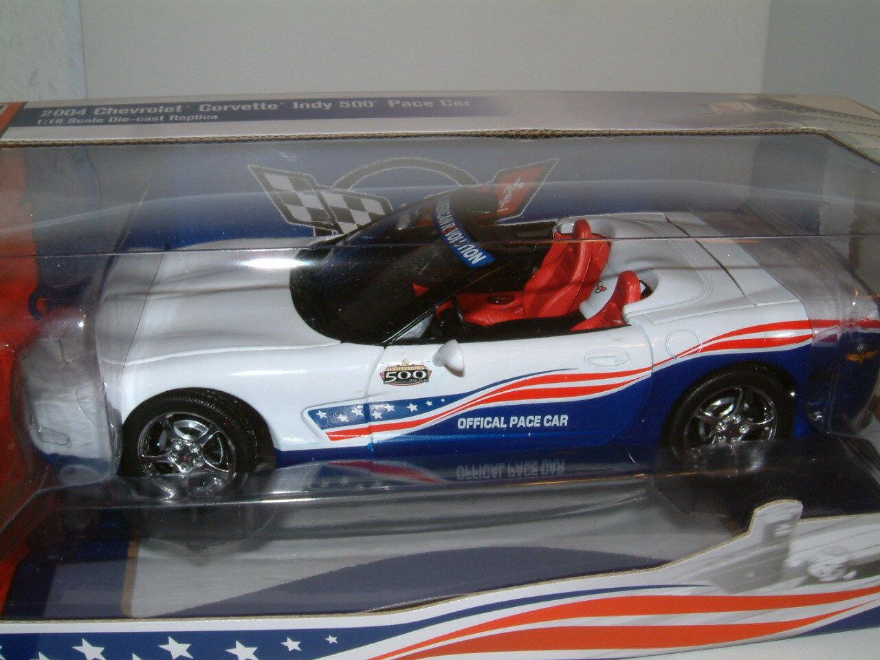 1 18 2004 CHEVROLET CORVETTE `INDY 500` PACE CAR,INDIANAPOLIS , AUTOWORLD