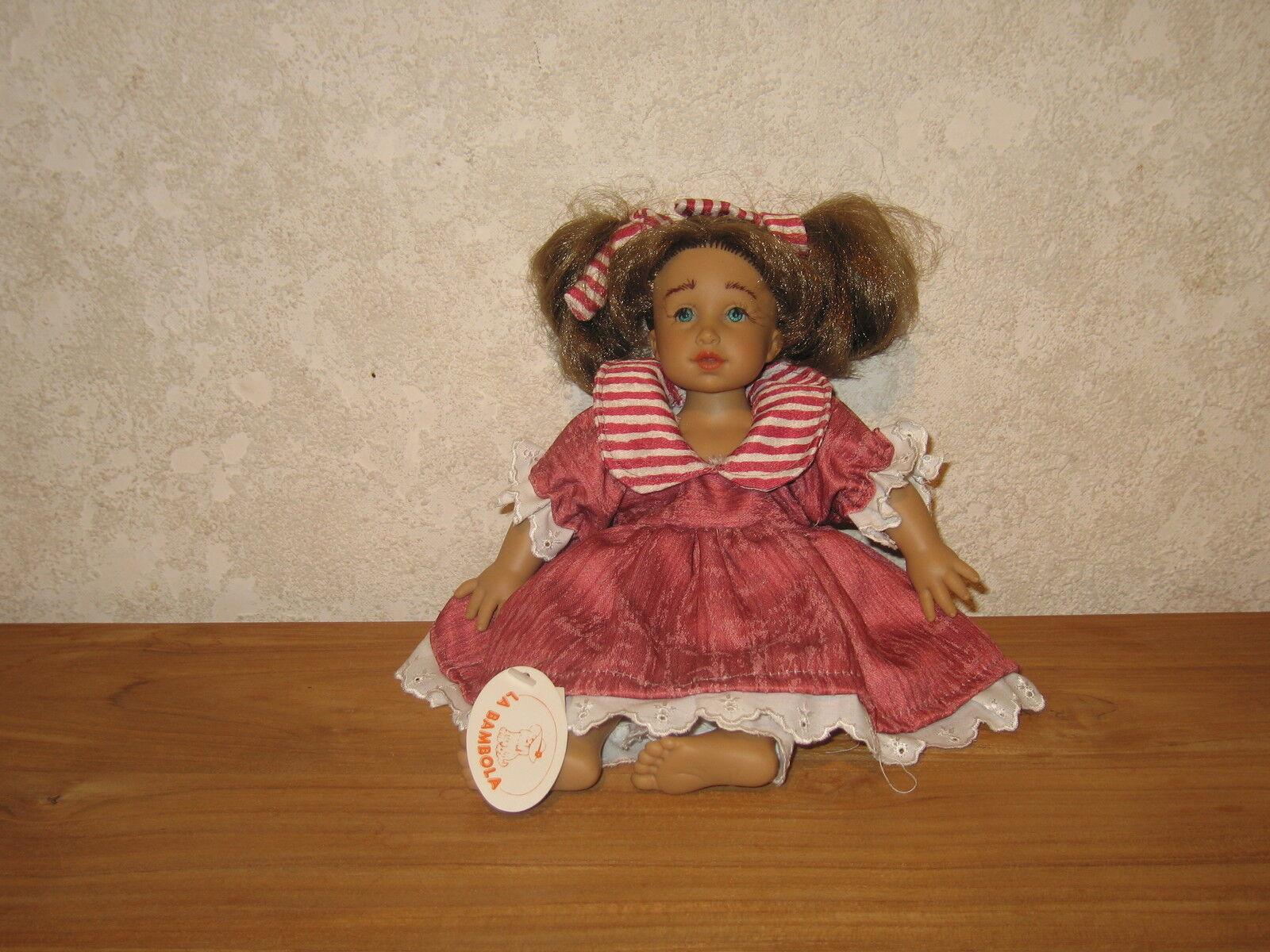 LA BAMBOLA NEW Poupée synthétique Nancy H.30cm Doll