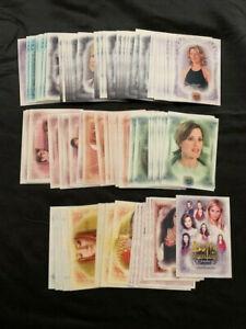 COMPLETE SET 2004 Inkworks Buffy Women of Sunnydale Base Card Set #1-90