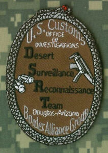 HOMELAND-SECURITY-ICE-D-S-R-T-CUSTOMS-BORDER-ALLIANCE-INSIGNIA-PATCH