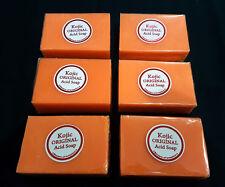 6 BOXES KOJIC ORIGINAL PAPAYA WHITENING ACID SOAP, or any combination!