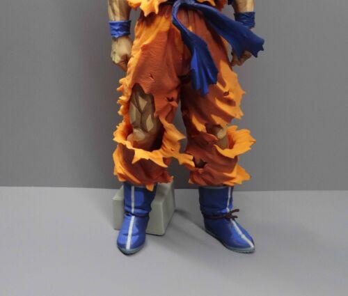 "34cm high #A12 DragonBall Z  DBZ SS GOKU PVC Statue FIGURE 14/"""