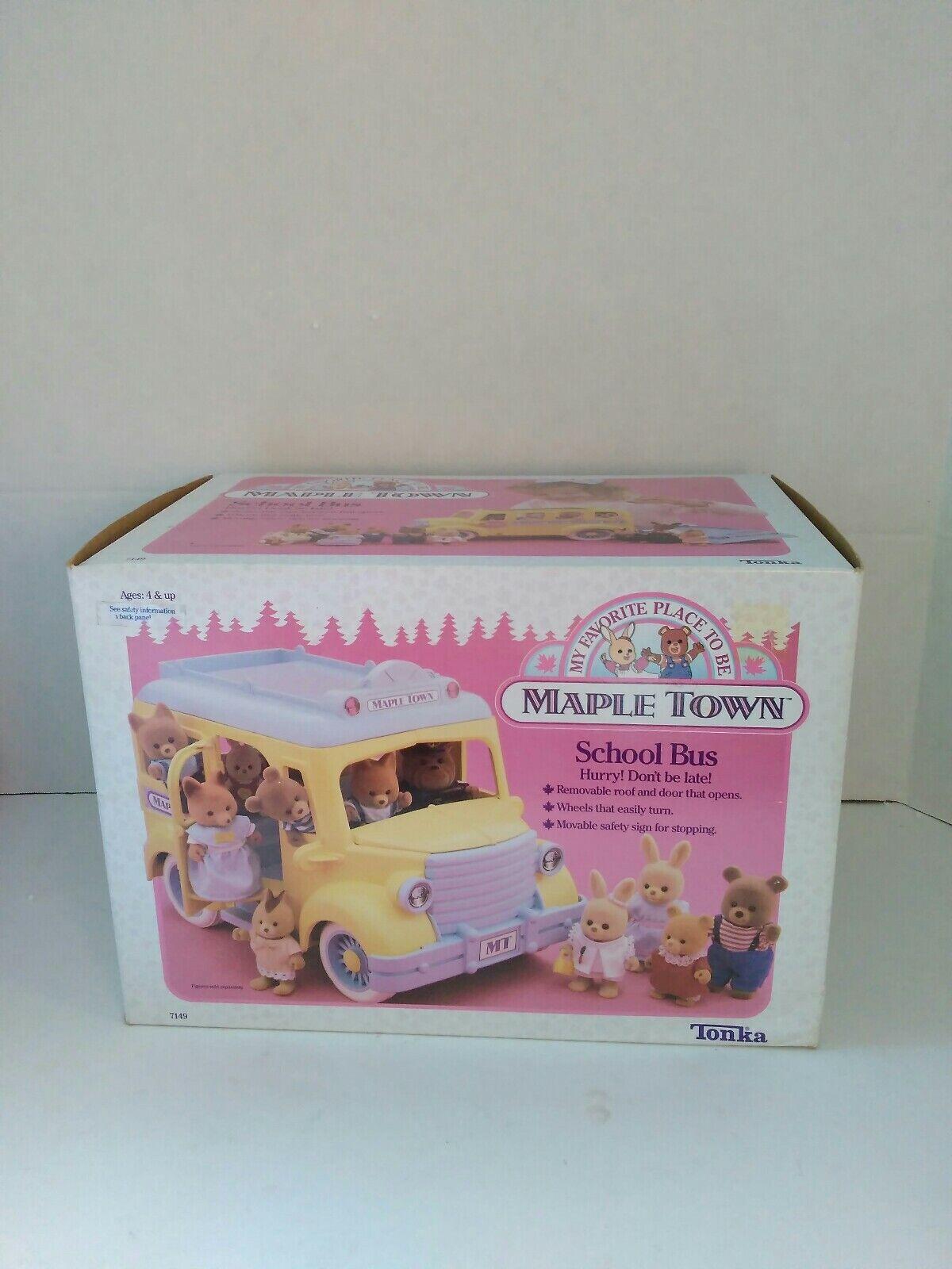 Ahorre hasta un 70% de descuento. Vintage 1988 1988 1988 Maple Town Autobús escolar Nuevo en Caja Abierto por Tonka Juguetes Coleccionable  tienda en linea