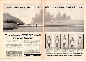 1958 True Temper Prof Fit Golf Shaft Naked Shower Towel
