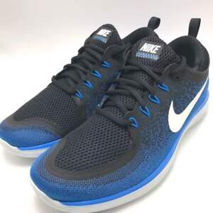 sale retailer b7fb3 4b4b5 Details about Nike Free RN Distance 2 Men's Running Shoes Armory  Navy/White-Black 863775-401