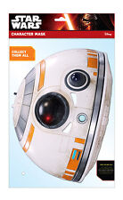 BB-8 ufficiale Star Wars Il Forza SCALDA 2D TESSERA PARTITO Face Mask Fancy Dress Up