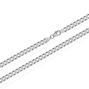 925 Sterling bala de plata cadena para remolques cadena de plata 50cm 2,50mm 8,8gr 2493