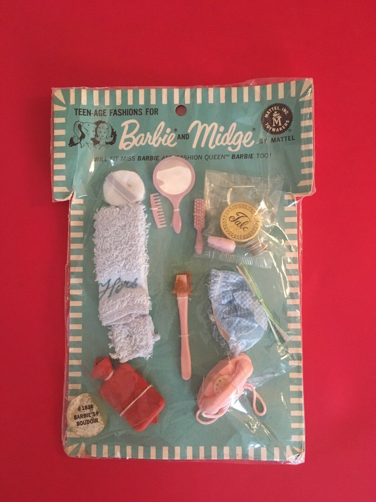 Barbie Vintage 1964 - Barbie's Boudoir Set BRAND NEW VHTF