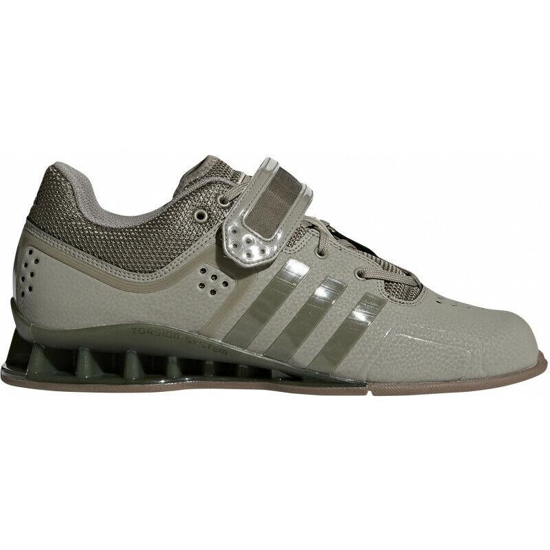 Mens Adidas Adipower Weightlifting scarpe - verde