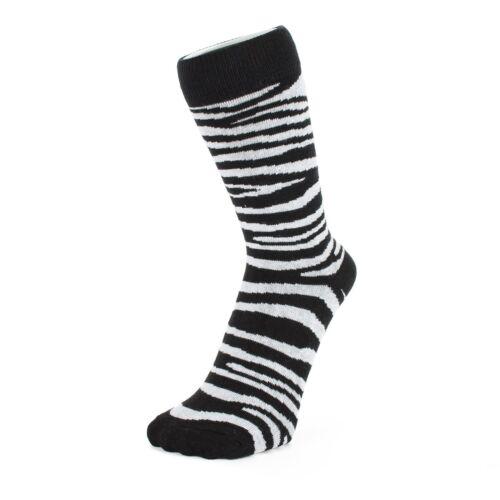 Socquettes mini chaussettes imprimé Zèbre