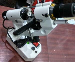 Optical-Lensmeter-Manual-Lensometer-External-Reading-Prism-Unit-With-Adapter