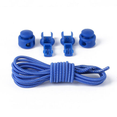 Shoe Laces No Tie Trainer Sports Runners Lace System Elastic Lock