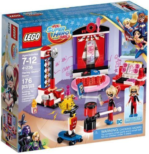 LEGO 41236 DC SUPER HEROES MÄDCHEN AUF STUDENTENWOHNHEIM DER HARLEY QUINN