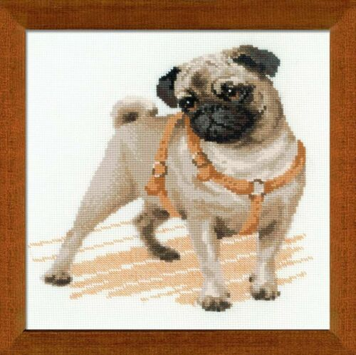 Kit Point Cross Dog The Pug 1176 Riolis