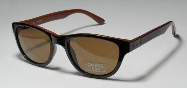 3a68d561b1d NWT Guess Sunglasses GU 6701 13C Top Black Brown   Brown 53 mm GU6701 NIB