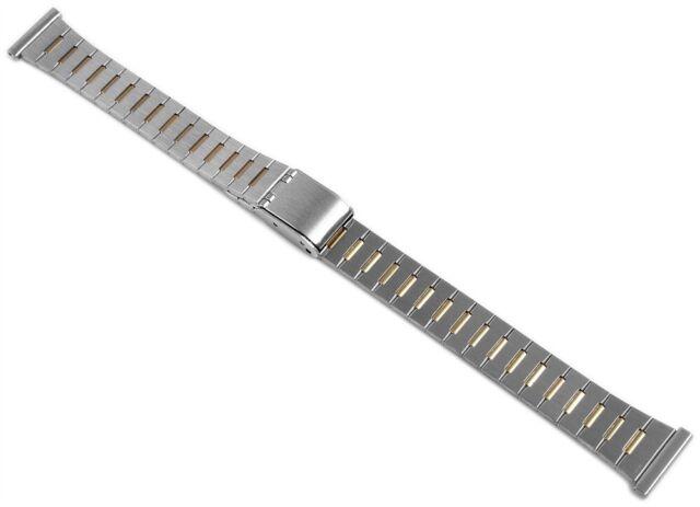 Edelstahl Ersatzarmband Uhrenband Silber Gold 14 mm Ersatzband X-823020000414