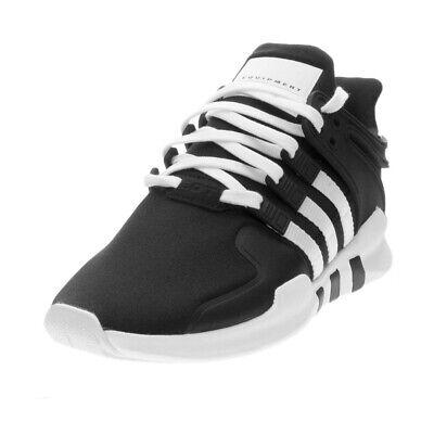 best sneakers 3825c 650e4 ADIDAS KIDS UNISEX ORIGINALS EQT SUPPORT ADV SHOES AQ1758 BLACK/WHITE/BLACK  | eBay