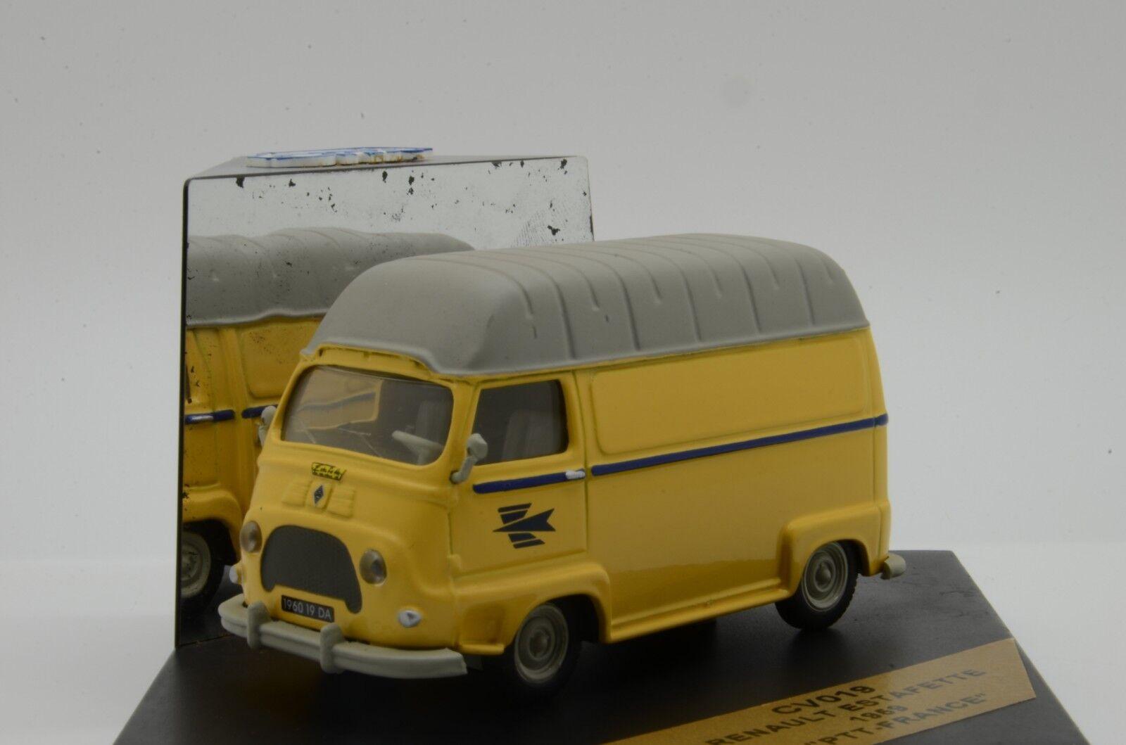 promocionales de incentivo    rara      RENAULT ESTAFETTE 1959 PTT Francia Post Vitesse CV019 1 43  despacho de tienda