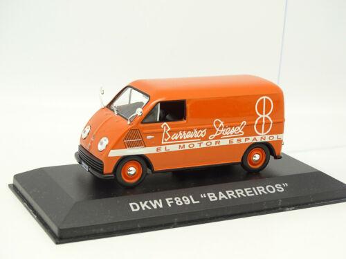 DKW F89 L Barreiros Ixo Presse 1//43