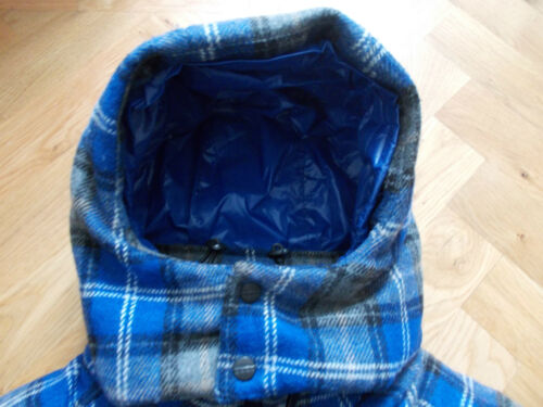 Bodywarmer con Down misto Gilet lana in 50 Uk da 641001 Bnwt cappuccio Eight It 40 More uomo 47xqH