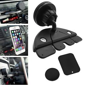 magnetic car dash cd slot holder mount stand for iphone android cell