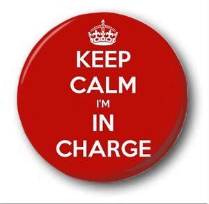 Keep-Calm-je-suis-dans-un-CHARGE-2-5cm-25mm-Button-Badge-nouveaute-mignon