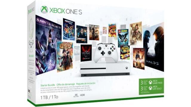 Xbox One S 1TB Console - Starter Bundle