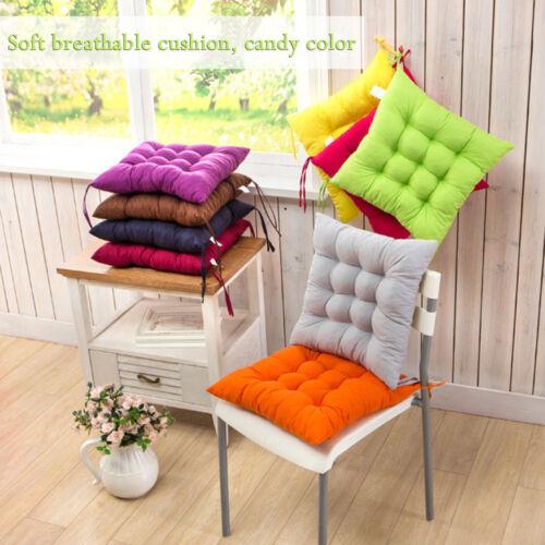 Cravate colorée chaise salle à manger assise jardin bureau Coussin Cuisine Maison